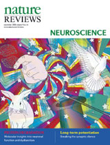 Martinez-Conde Lab's research featured on the Cover of Nature Reviews Neuroscience