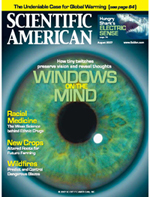 Martinez-Conde Lab's research featured on the Cover of Scientific American